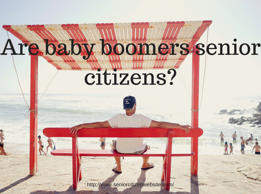 Is a baby boomer also a senior citizen?
