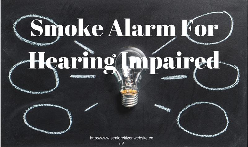 hearing impaired smoke detectors